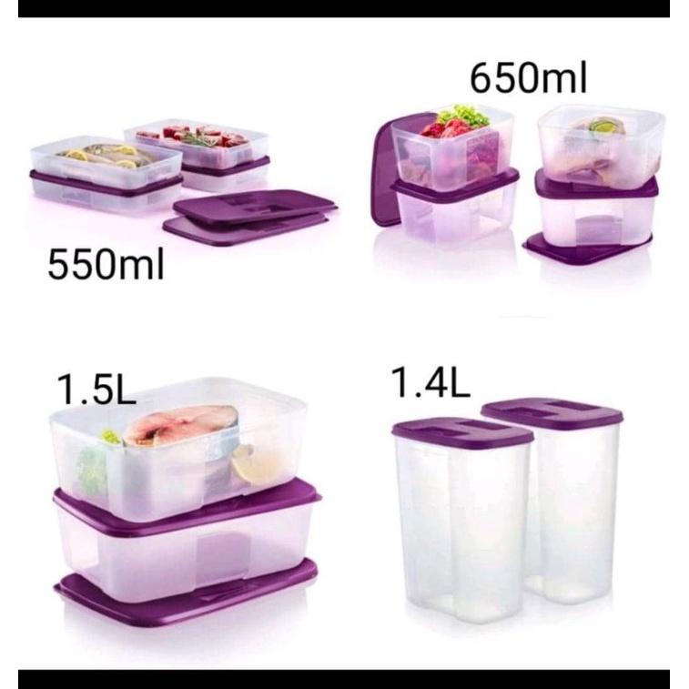 Tupperware Freezermate Small ll 650mL/Medium l 1.5L/Medium ll 550mL/Deep Pocket 1.4L