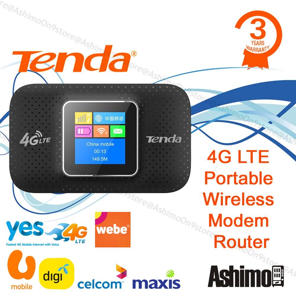 TENDA 4G185 4G LTE Advanced Portable Wireless WiFi Modem Router