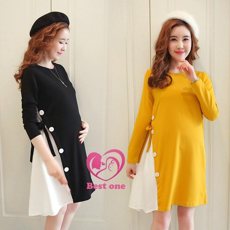218c700a705f3 ProductImage. ProductImage. Korean Fashion Maternity Wear Plus Size Loose  Blouse Pregnant Dresses