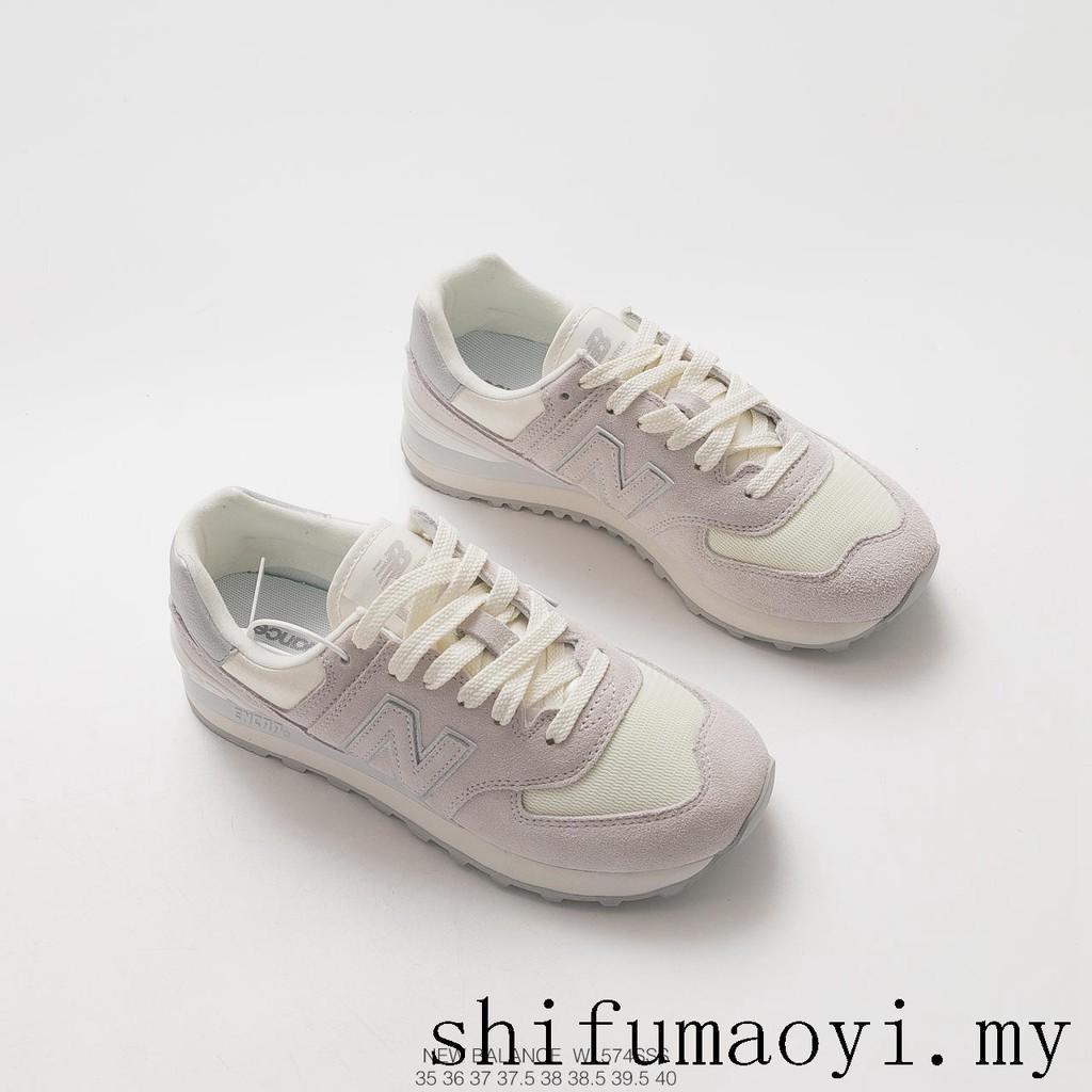 jaloissa virallinen toimittaja myymälä Brand New New balance EVA ENCAP retro running shoes sneakers shoes WL574SSS