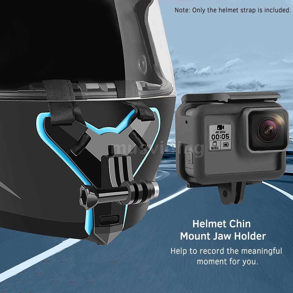 Helmet Tactical Mount Holder Stand Support For Phone Sport Camera Gopro 1 2 3 4