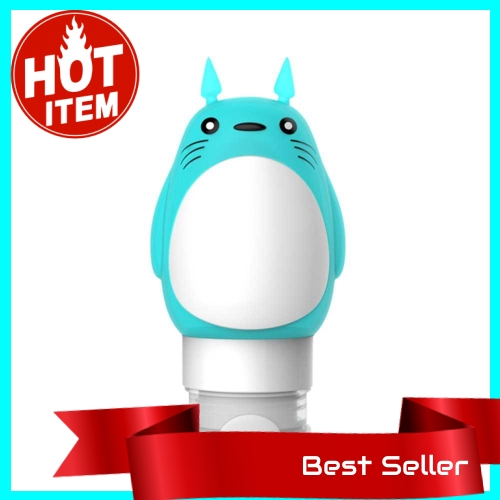 Refillable Cartoon Cute Animal Shaped Travel Bottle Set Squeezable Silicone Bottles Kit Style