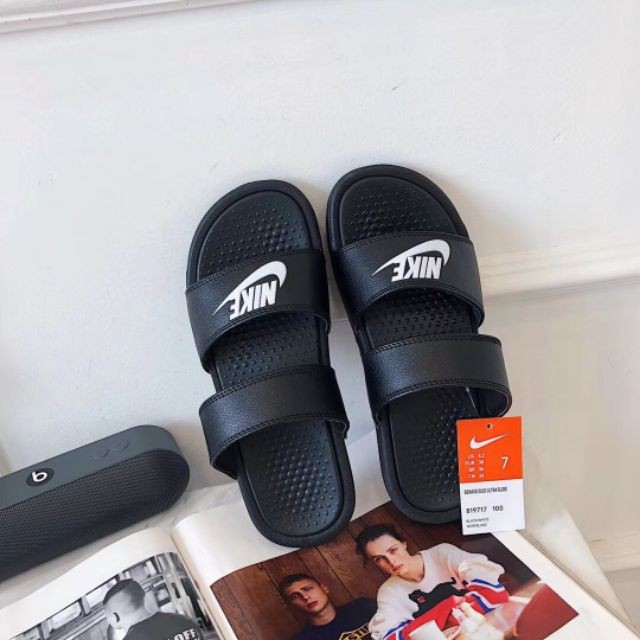 low priced 5c6a0 e2867 Ready Stock 2018 new Nike sandals ,nike slippers,high quality couples shoes  nike