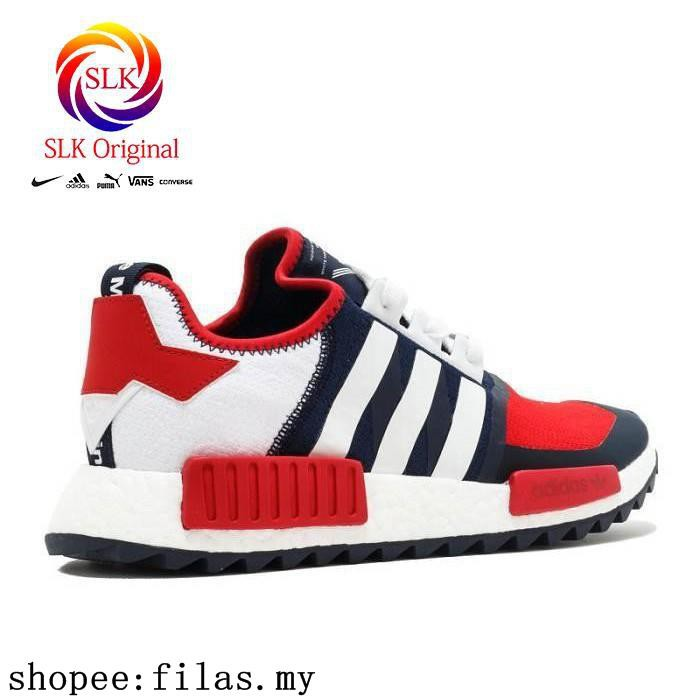 sale retailer 4c88a 24891 Hot Sale Adidas Nmd Trail Pk White Mountaineering Navy Red White
