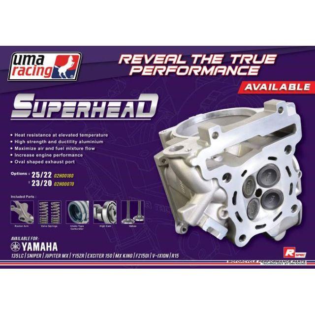 UMA RACING LC135 20/23 & 22/25 SUPERHEAD SPORT SET