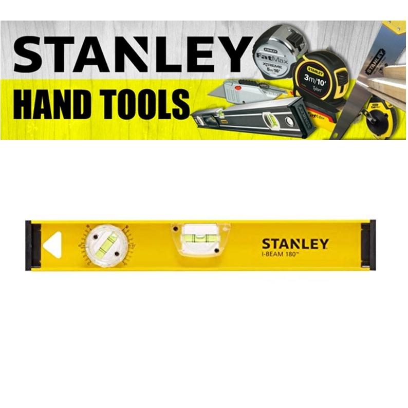 STANLEY HAND POWER TOOLS I-BEAM PRO180 LEVEL PLUMB MEASURE (3 MONTH WARRANTY)