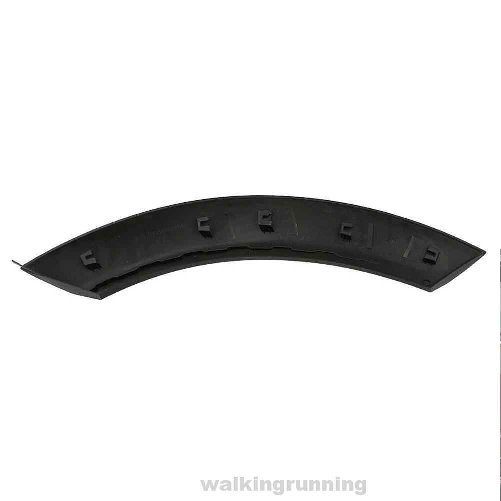 1 Wheel Arch Trim Front Auto Accessories Strip Left Right Replacement Moulding Anti Scratch Car Mudguard Protector Hood Styling Splash Guards for Mini Cooper 51131505866