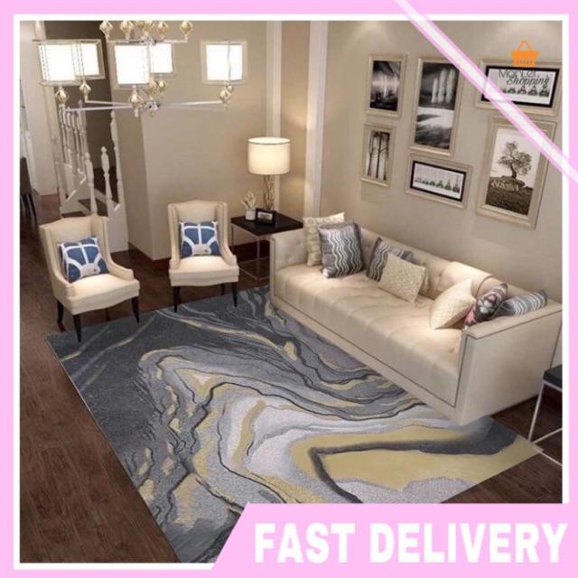 Ready Stock Floor Mat Rugs Carpet Modern Deco Room Soft Velvet Thick Permaidani Besar 200cm Karpet Ruang Tamu Bilik Shopee Malaysia