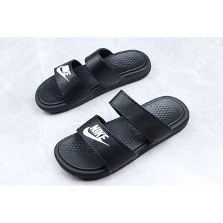 sports shoes 79924 061bd Nike Benassi Duo Ultra Slide Mens and womens shoes with binding slippers  36-45
