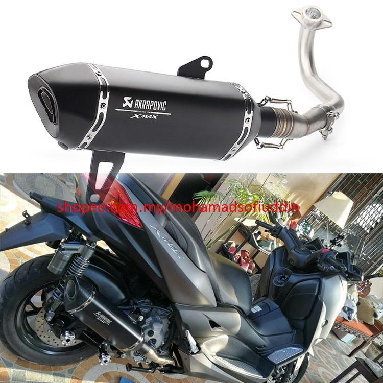 8  Akrapovic - Yamaha scooter XMAX300 / XMAX250 Exhaust Pipe