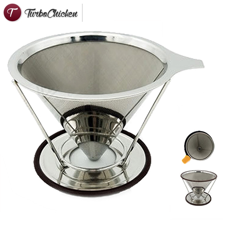 Cod Cone Coffee Filter With Stand