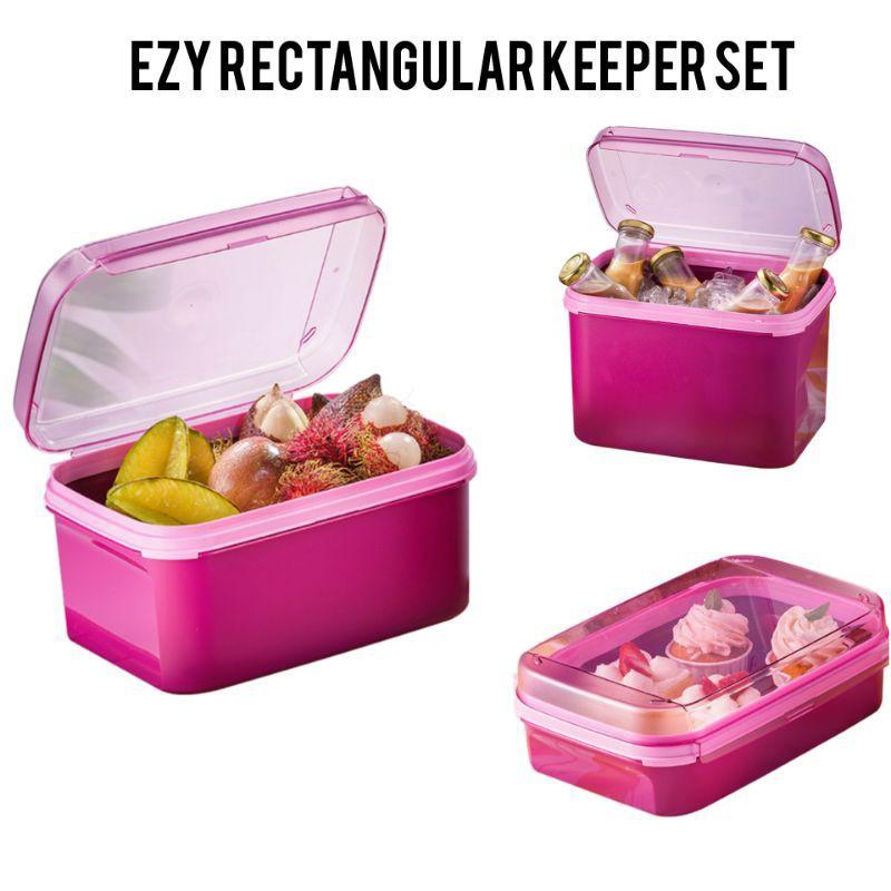 🔥READY STOCK🔥 Original Tupperware Ezy Rectangular Keeper