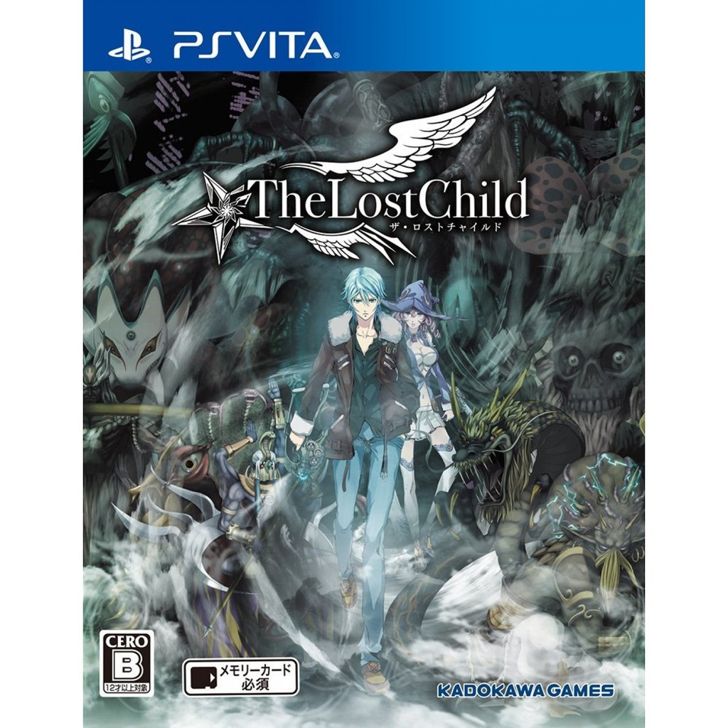 PS Vita The Lost Child (R3)(Chinese)(New)