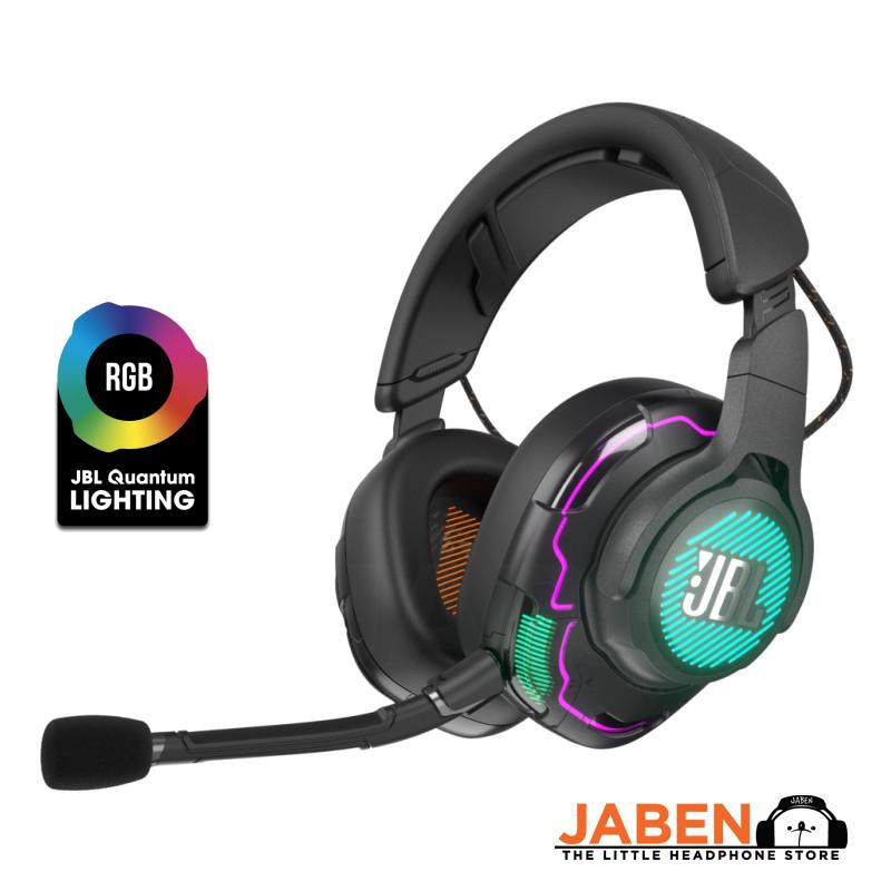 JBL Quantum One Hi-Res RGB Head Tracking Discord Certified Gaming Closed Back Over-Ear Headphones [Jaben] Mobius