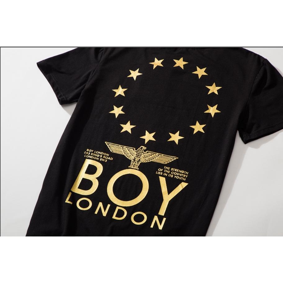 f5cd2b9bdf2 Boy London 2019 tide brand short-sleeved sports casual loose top ...