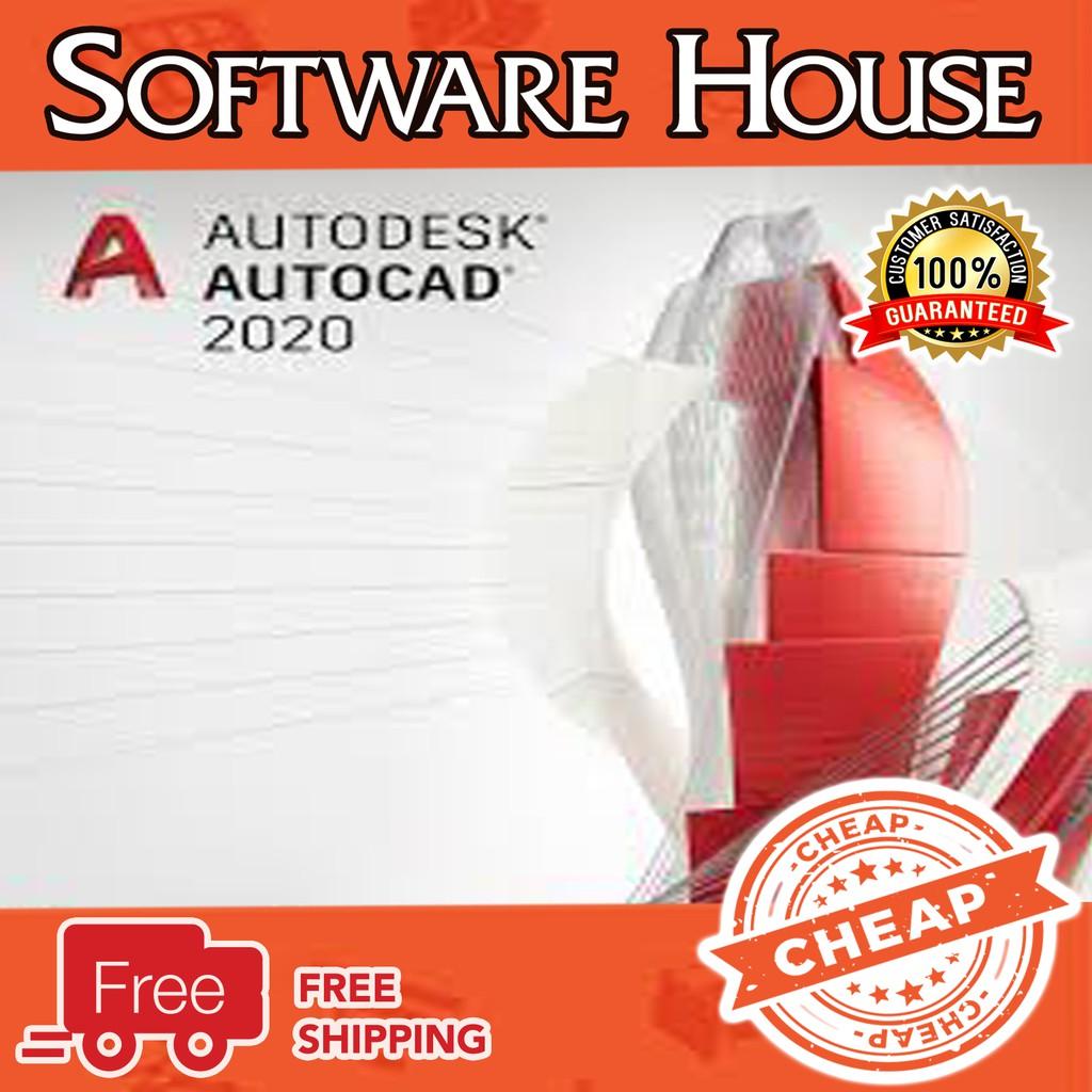 [100% work] AutoCAD Autodesk AutoCAD 2020 x64bit