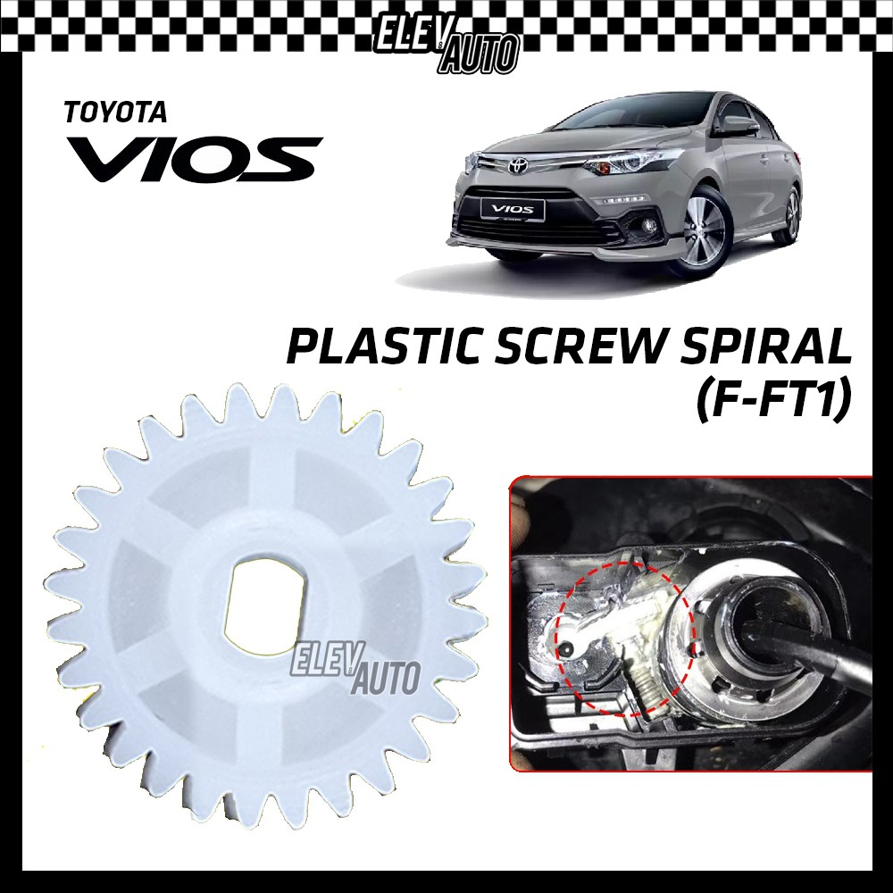 Toyota Vios Plastic Screw Spiral Side Mirror Replacement Tool (F-FT1) 1 PCS