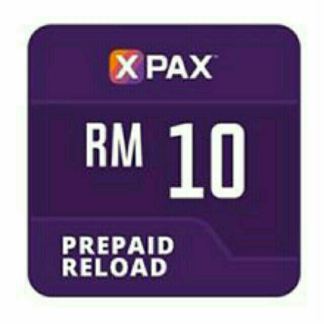 Celcom Xpax Prepaid Reload Rm10 ( Directly Topup )