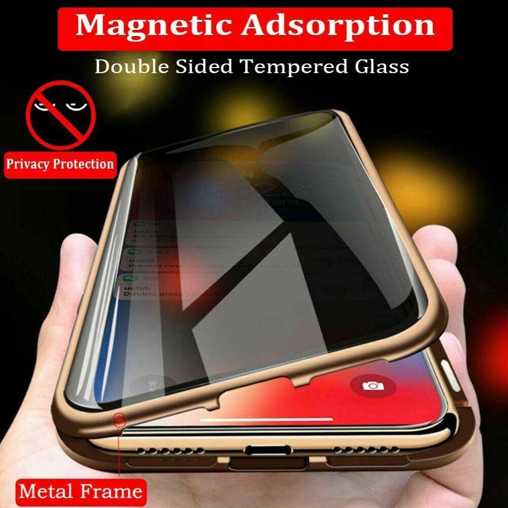 ฝาครอบแก้วแม่เหล็กสำหรับ iPhone XS Max 8