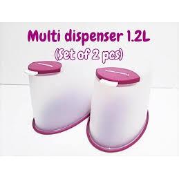 [Ready Stock] Tupperware Multi Dispenser (1.2L x 2 pcs)