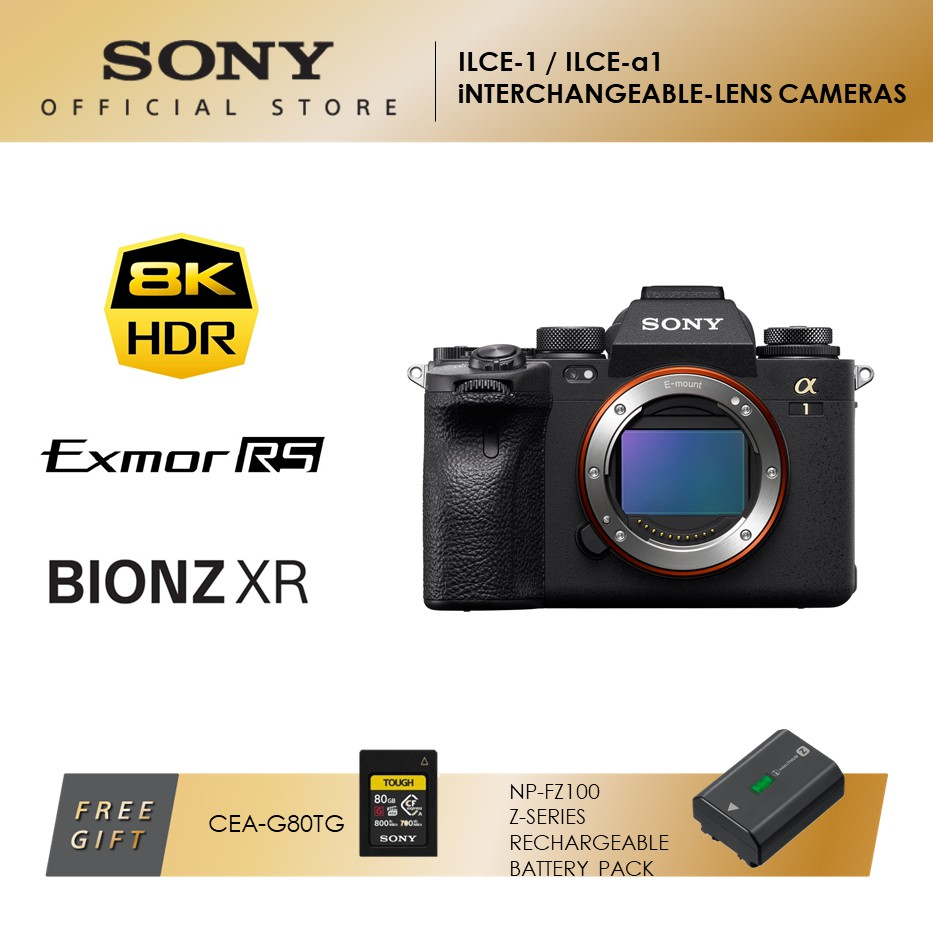SONY ILCE-1 INTERCHANGEABLE-LENS CAMERAS α1