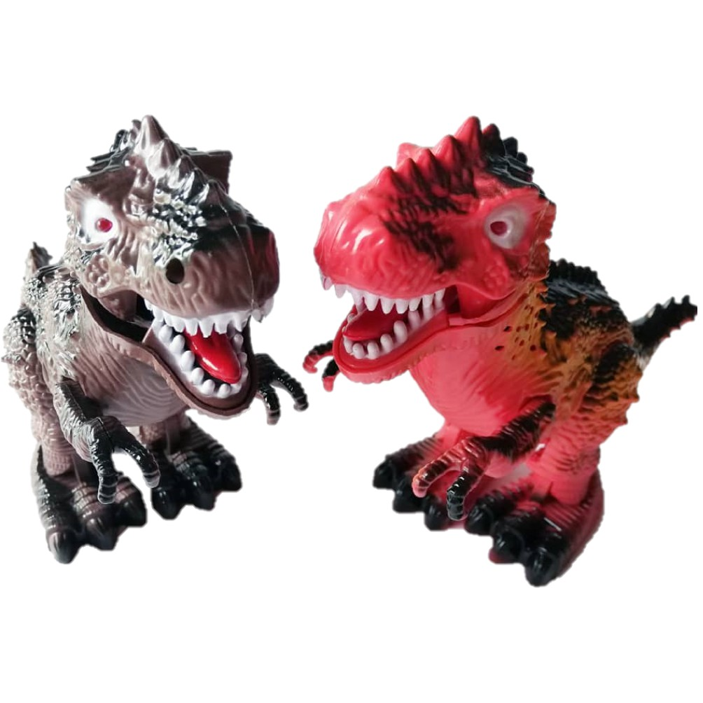 Electrical Walking Dinosaur/Dragon model Eye Light Simulation Sound