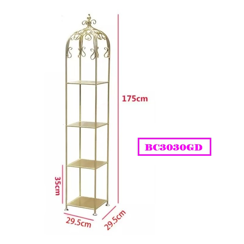 [ READY STOCK ]  Nordic Wrought Iron Birdcage Flower Jualan Murah Raya Rack Simpanan Storage Cabinet Furniture Perabut