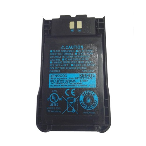 KENWOOD TK3000/U100 KNB-65L 1950mAh Li-ion Battery