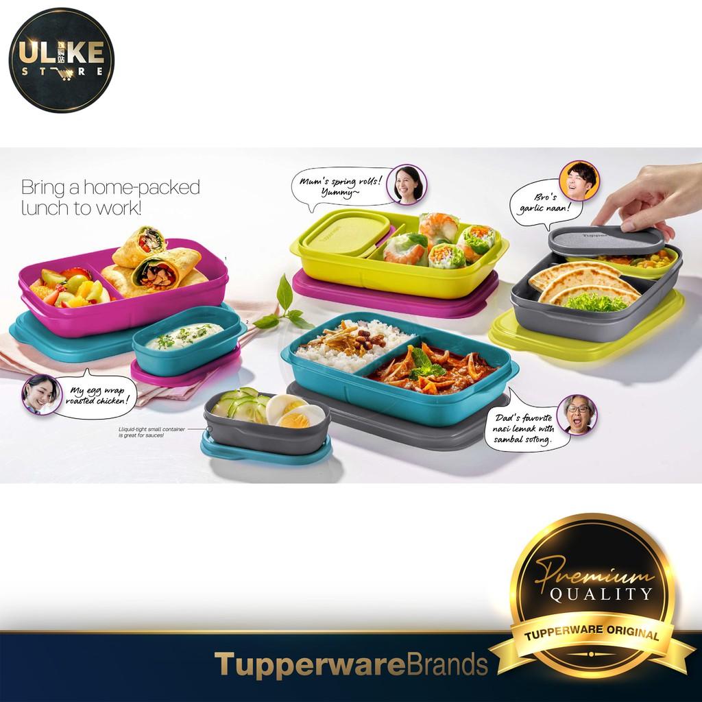 Tupperware Foodie Buddies (1pc) 560ml + 120ml / Lunch Boxes