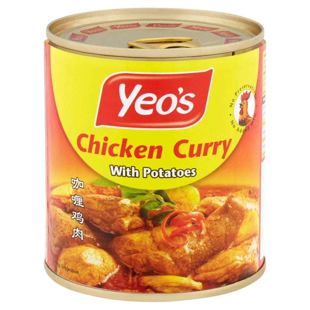 Yeo's Chicken Curry with Potatoes 280g