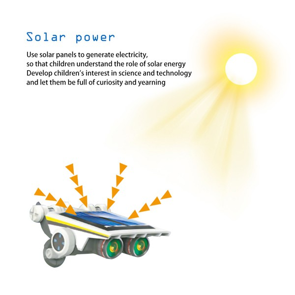 EDUCATIONAL DIY 13 IN 1 SOLAR POWER ENERGY ROBOT TOY KIT SCIENCE SCHOOL PROJECT FOR KIDS LEARNING PURPOSE