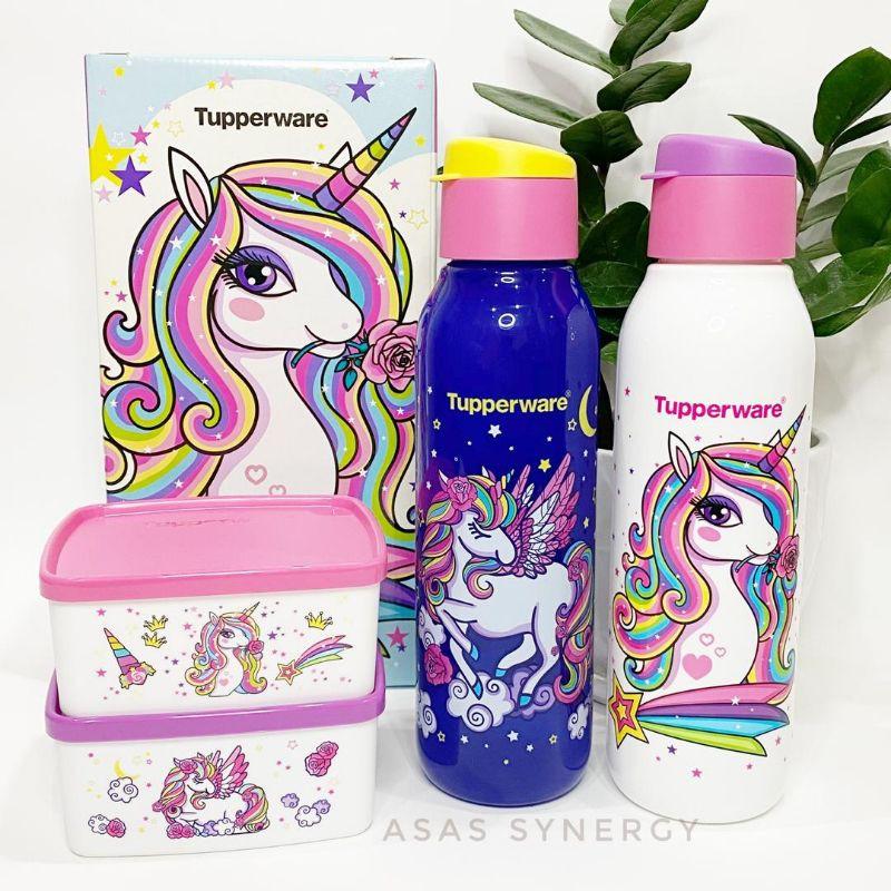Tupperware Unicorn Collection set