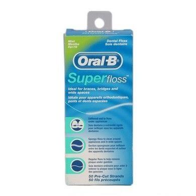 Oral B Floss Super 50's