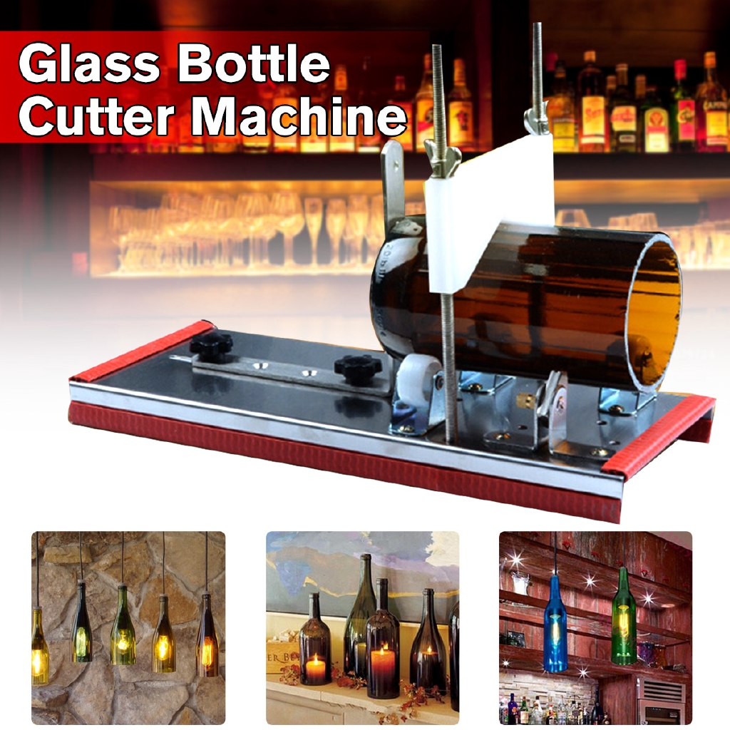 Diy Recycle Cutting Tool Kit Glass Bottle Cutter 2-10Mm Beer Wine Jar Accur
