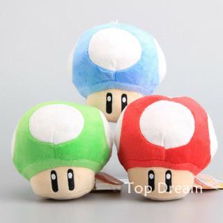 5pcs Super Mario Chestnut Poison Mushroom Plush Toy Doll 5 Mario