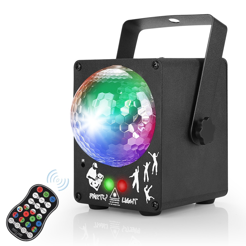 Led Disco Laser Light Rgb Projector Party Lights 60 Patterns Dj Magic Ball Laser Party Holiday Christmas Stage Lighting Shopee Malaysia
