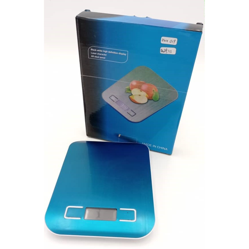 [READY STOCK] Electronic Kitchen Scale with high definition LED display