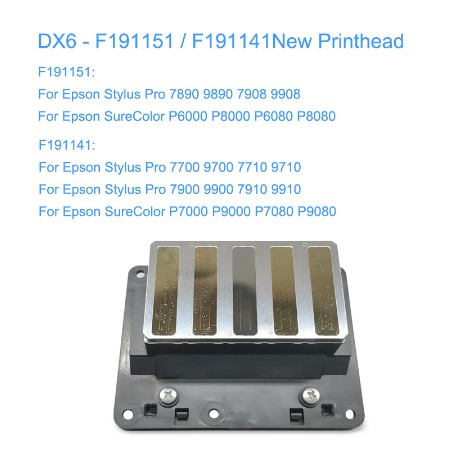 Brand New F191151 F191141 Printhead For Epson 7890 9890 7700 9700 7900 9900  P6000 P6080 P8000 P7000 P9000