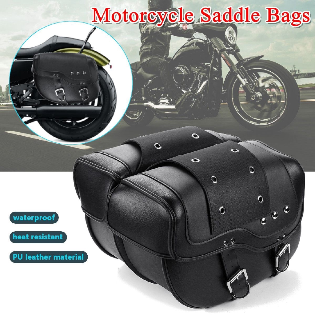 Bags & Luggage 1pcs Motorcycle Tool Bag Side Box Gear Pouch For Harley Cruiser Chopper Bike Tool Kit Saddlebag Saddle Tool Pouch Side Bag New