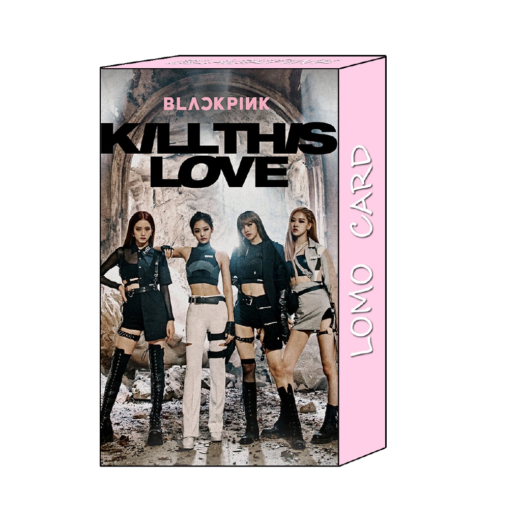 Kpop Blackpink In Your Area Polaroid Lomo Photo Card New Album Lisa Rose Hd Collective Photocard 40pcs/set Non-Ironing Jewelry & Accessories Beads & Jewelry Making