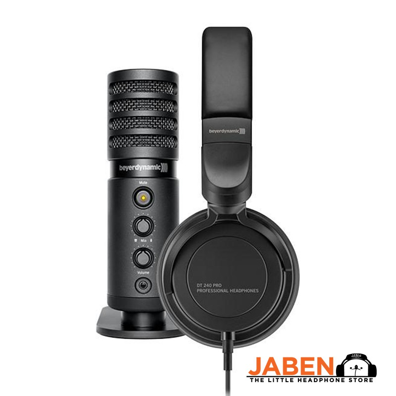 beyerdynamic CREATOR 24 Mini Studio Home Recording DT240 FOX Bundle [Jaben]