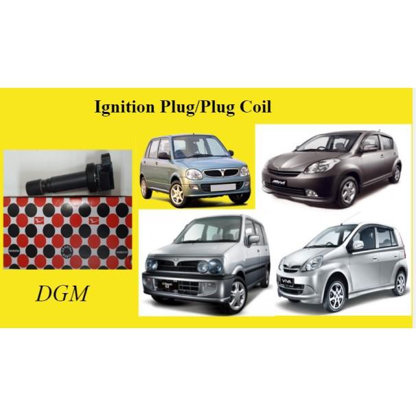 DAIHATSU Perodua Kelisa Kenari Viva Myvi 1.0 PLUG COIL/IGNITION COIL (100% Original) 19070-BZ010-001