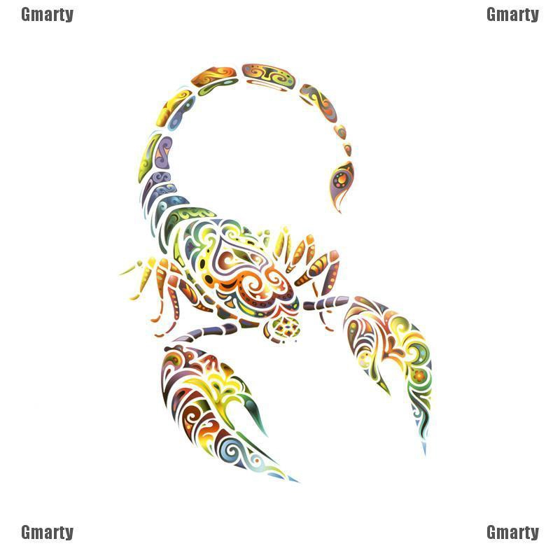 725c9c802ec5 Gmarty Scorpion Iron On Patches Washable Heat Transfer Stickers Applique  for Clothes