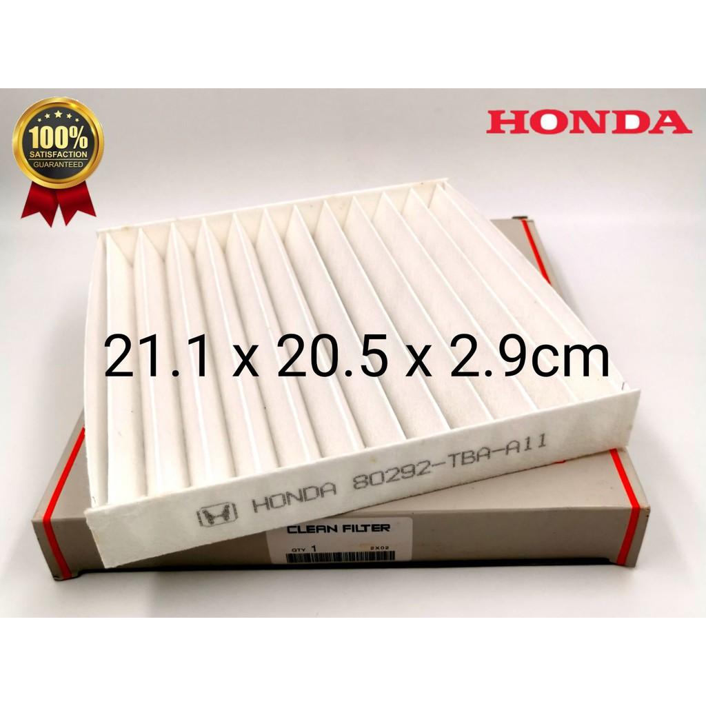 CAFNDHCIV16 - HONDA CIVIC '16 TEA CABIN AIR FILTER ( PC ) 80292-TBA-A11 ( BIG GRID )