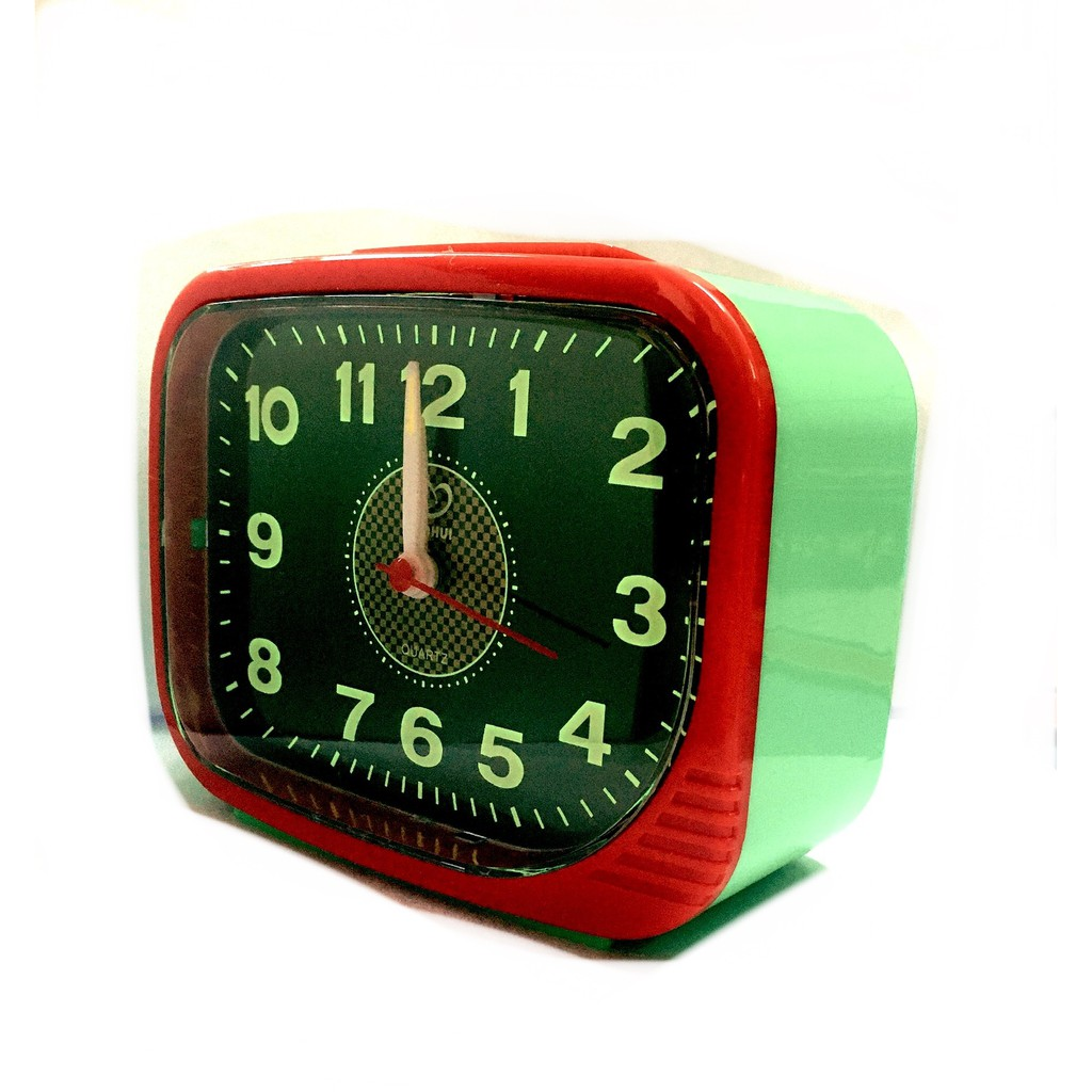 Globe Loud Sound Alarm Clock With Night Light BH106G