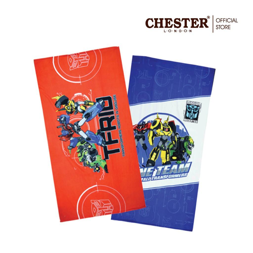 "Chester L.O.N.D.O.N, Microfiber Towel 27""x54"" - Transformers / My Little Pony"