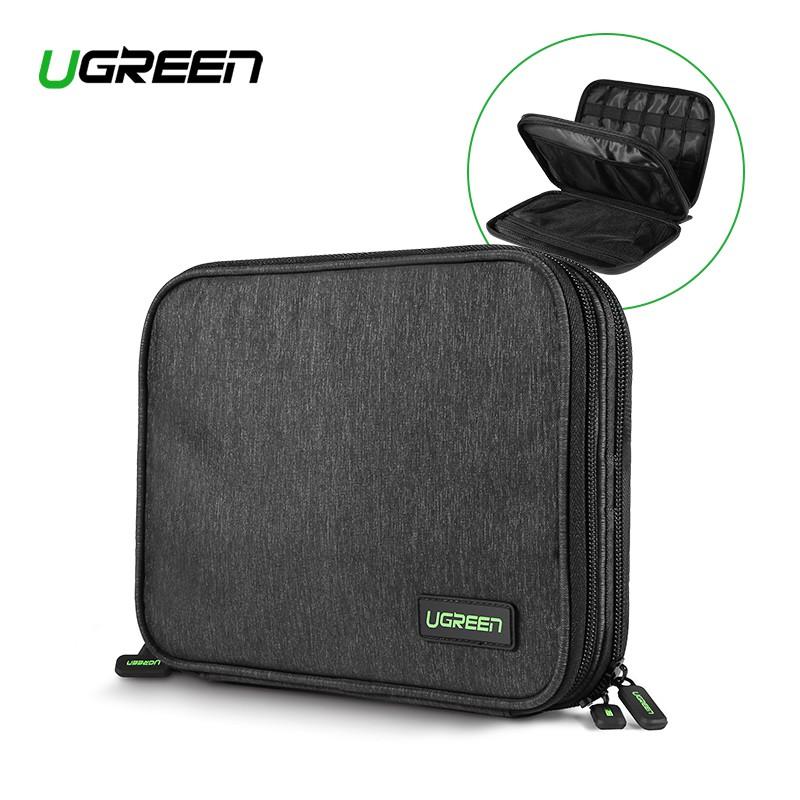 e405490c13a6 UGREEN Double Layer Gadget Organizer Bag