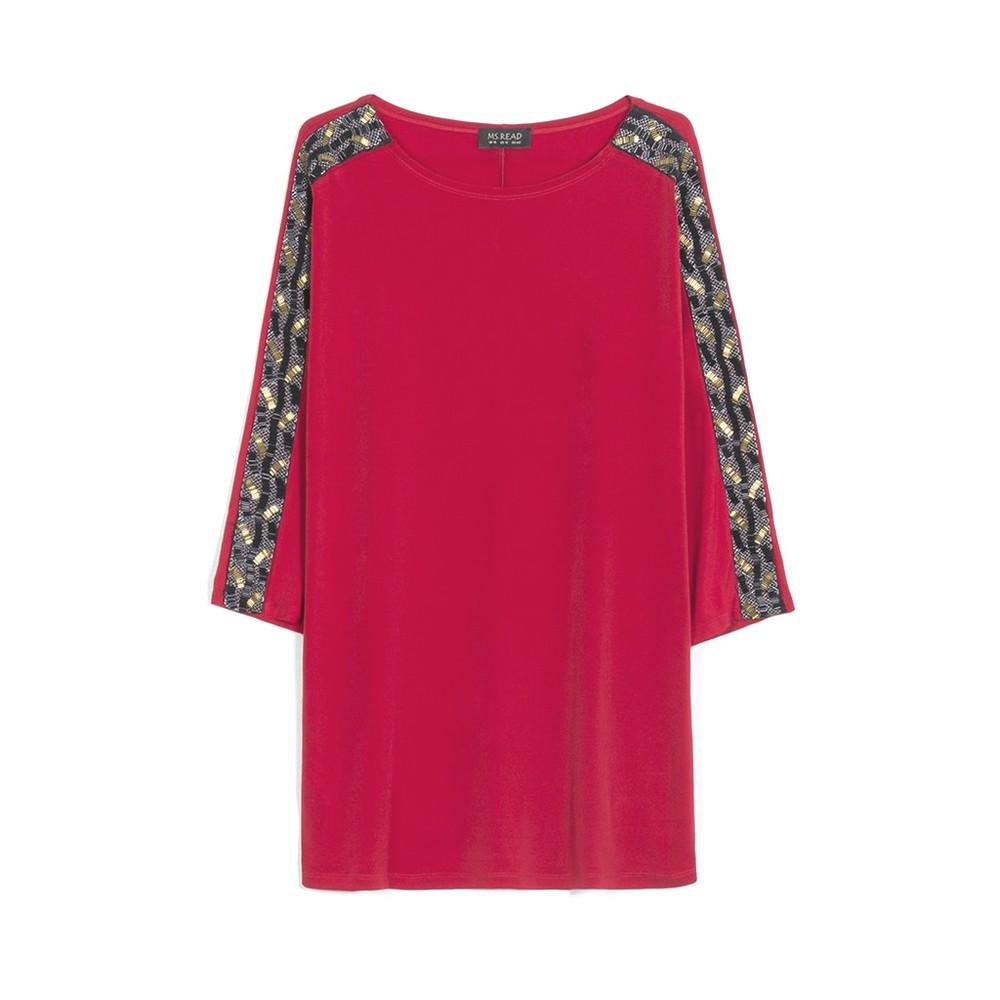 09241c0ba10 Chiffon Floral Plus Size Dress With Camisole - 5xl