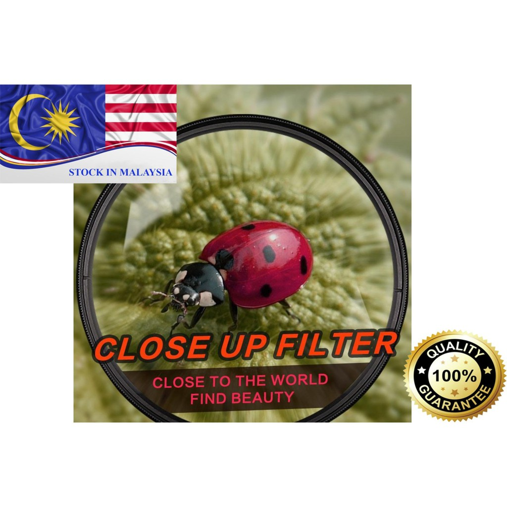 Zomei 67mm +10 Close Up Filter for Canon Nikon (Ready Stock In Malaysia)