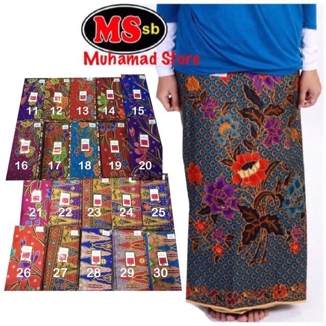 Part 4 Kain Batik cap Tiga  Setangkai  Malaysia